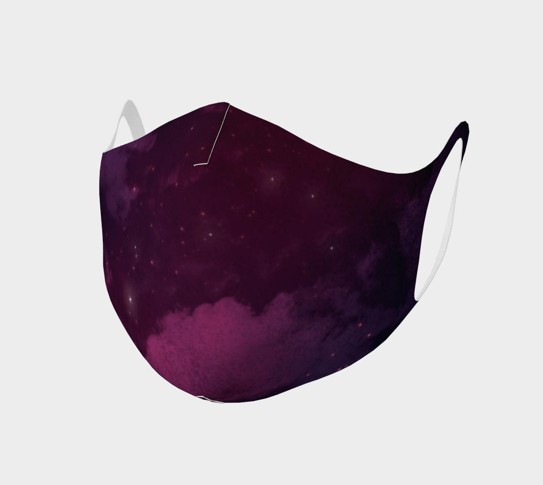 Aperçu de Sorcerer Magic Purple Face Mask