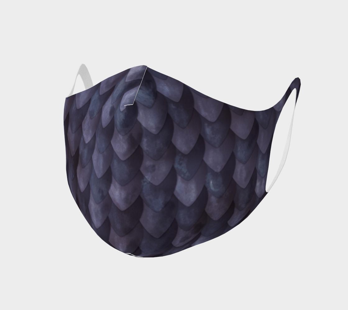 Aperçu de Purple Dragon Face Mask
