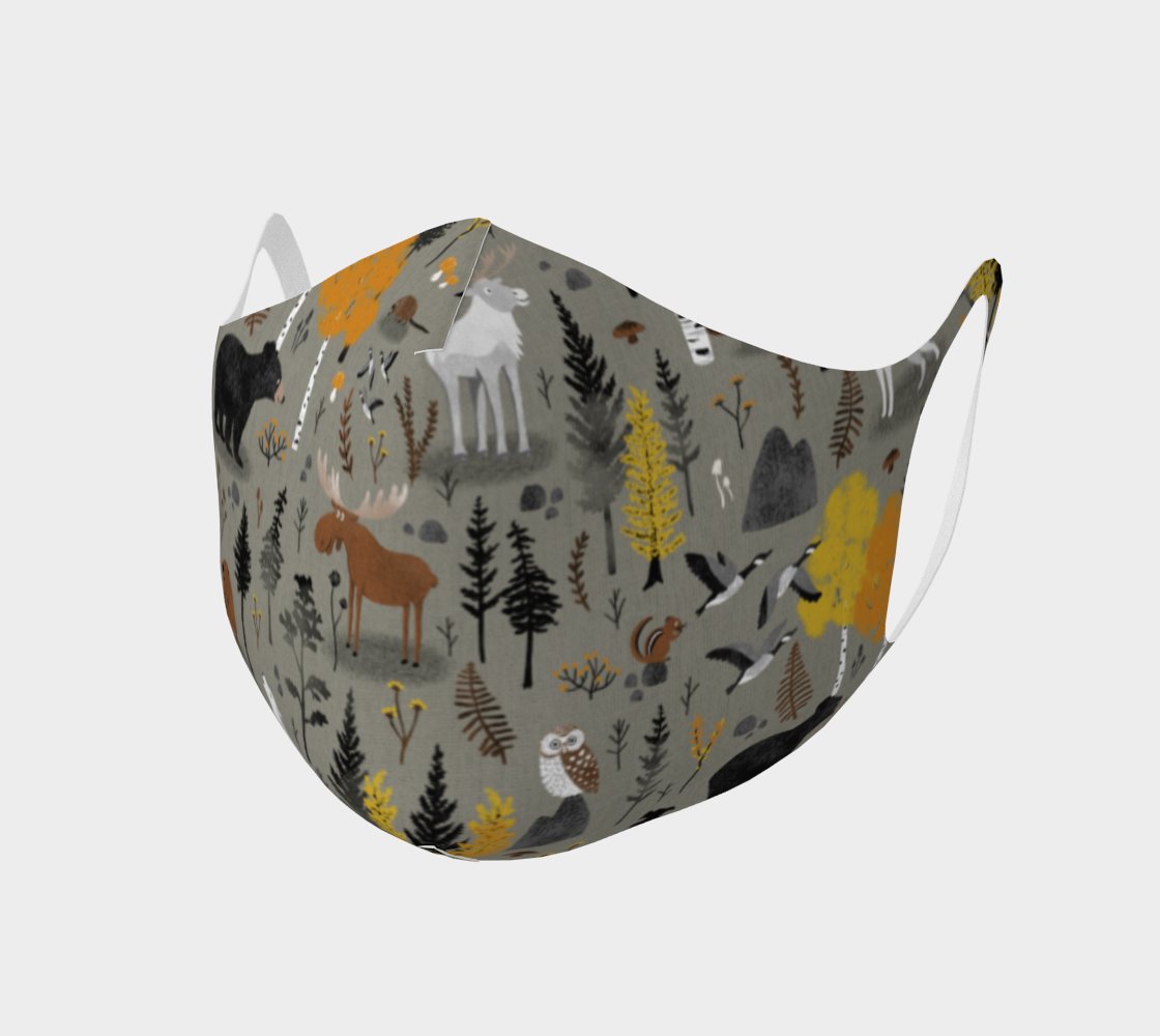 Canadian Forest - Comfy Mask preview