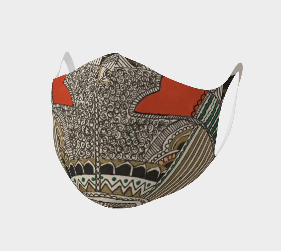 detailed fish mask preview