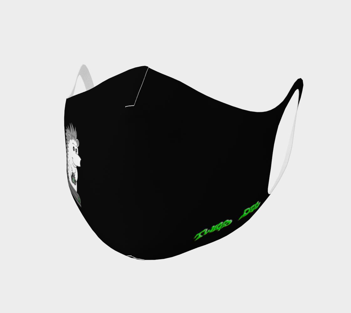 Twigs Dee Logo & Hedgehog Mask preview