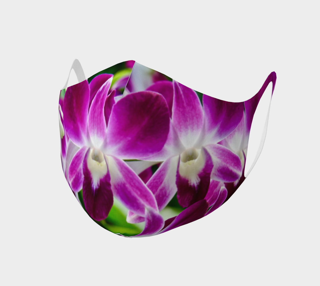 Orchid Garden Easy Breathe Face Covering preview