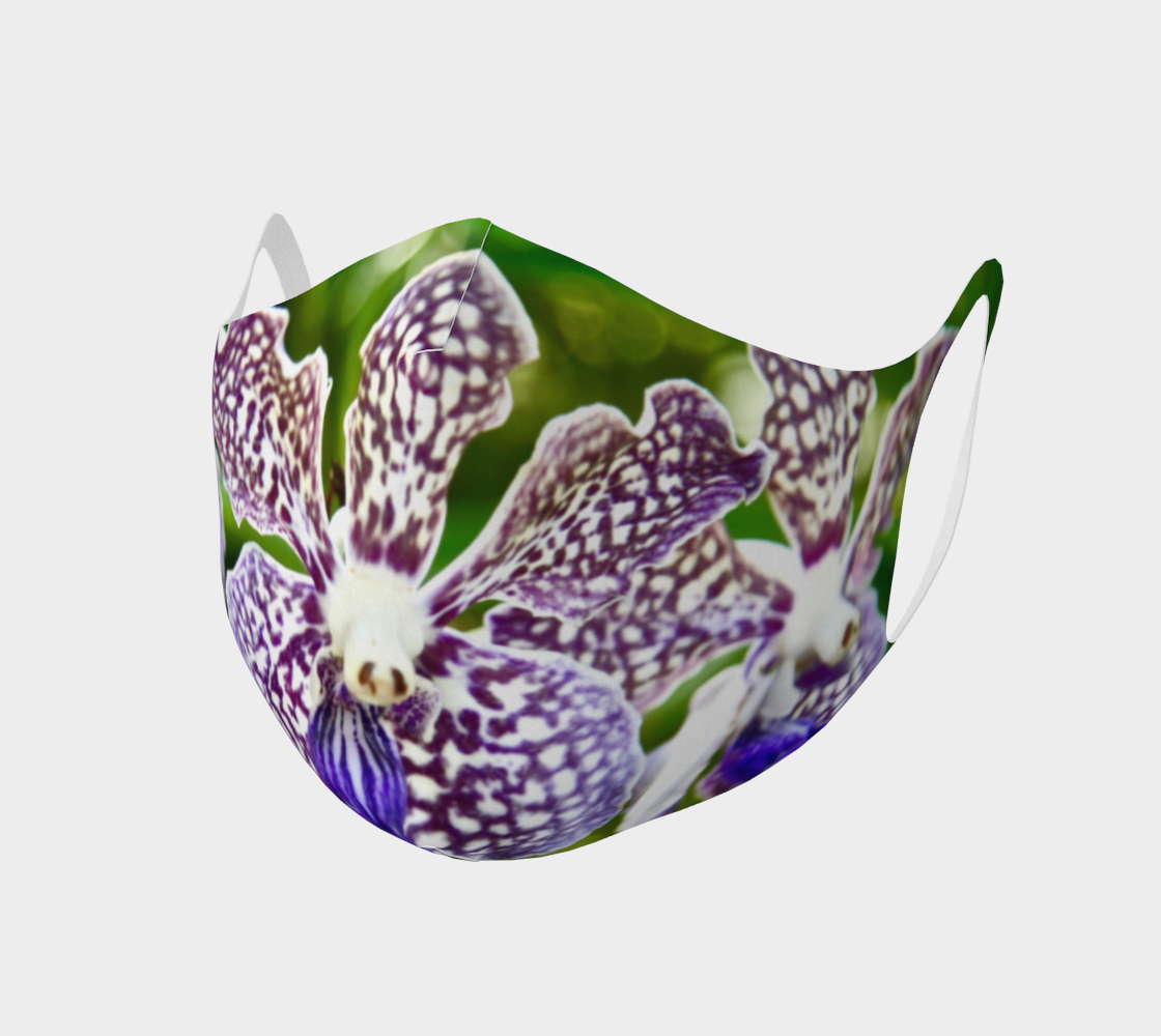 Orchid Garden 2 Easy Breathe Face Covering preview
