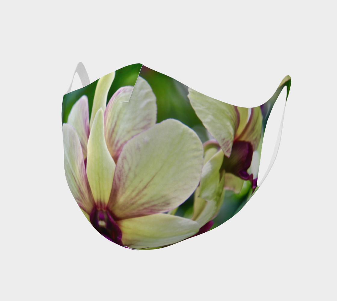 Orchid Garden 3 Easy Breathe Face Covering preview