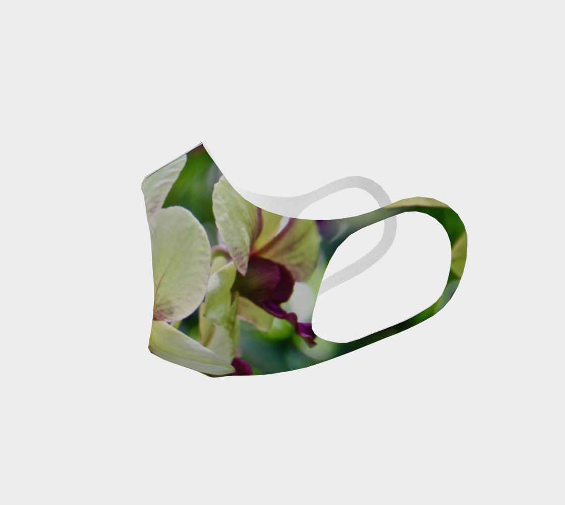 Orchid Garden 3 Easy Breathe Face Covering preview #2