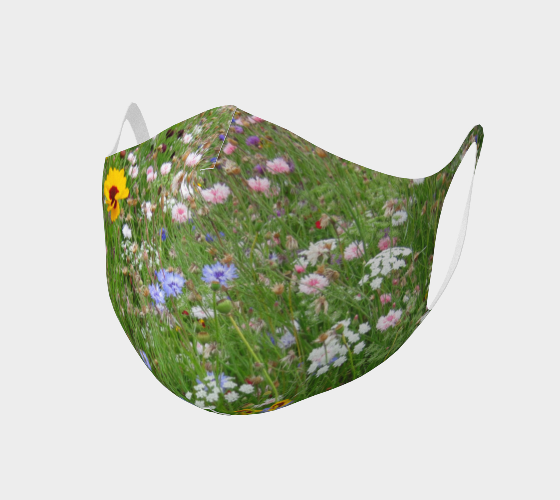 Face Mask Style 2 - Wildflowers preview