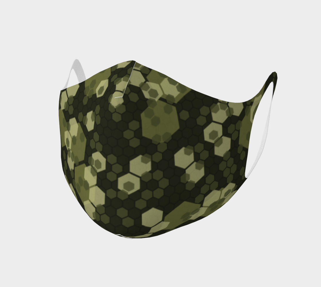 Face Mask Style 2 - Camo for Bees preview