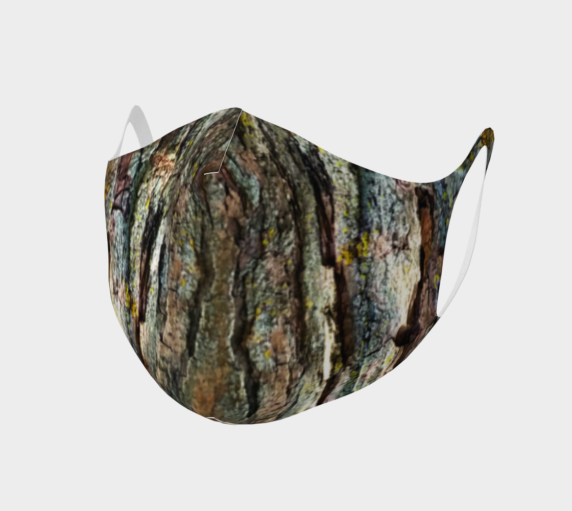 Face Mask Style 2 - Tree Bark preview