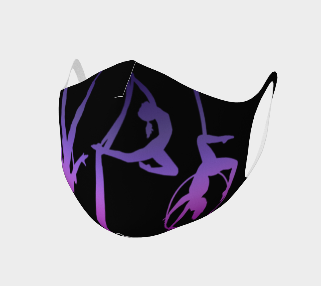 Face Mask Style 2 - Aerial Ombre Purple preview