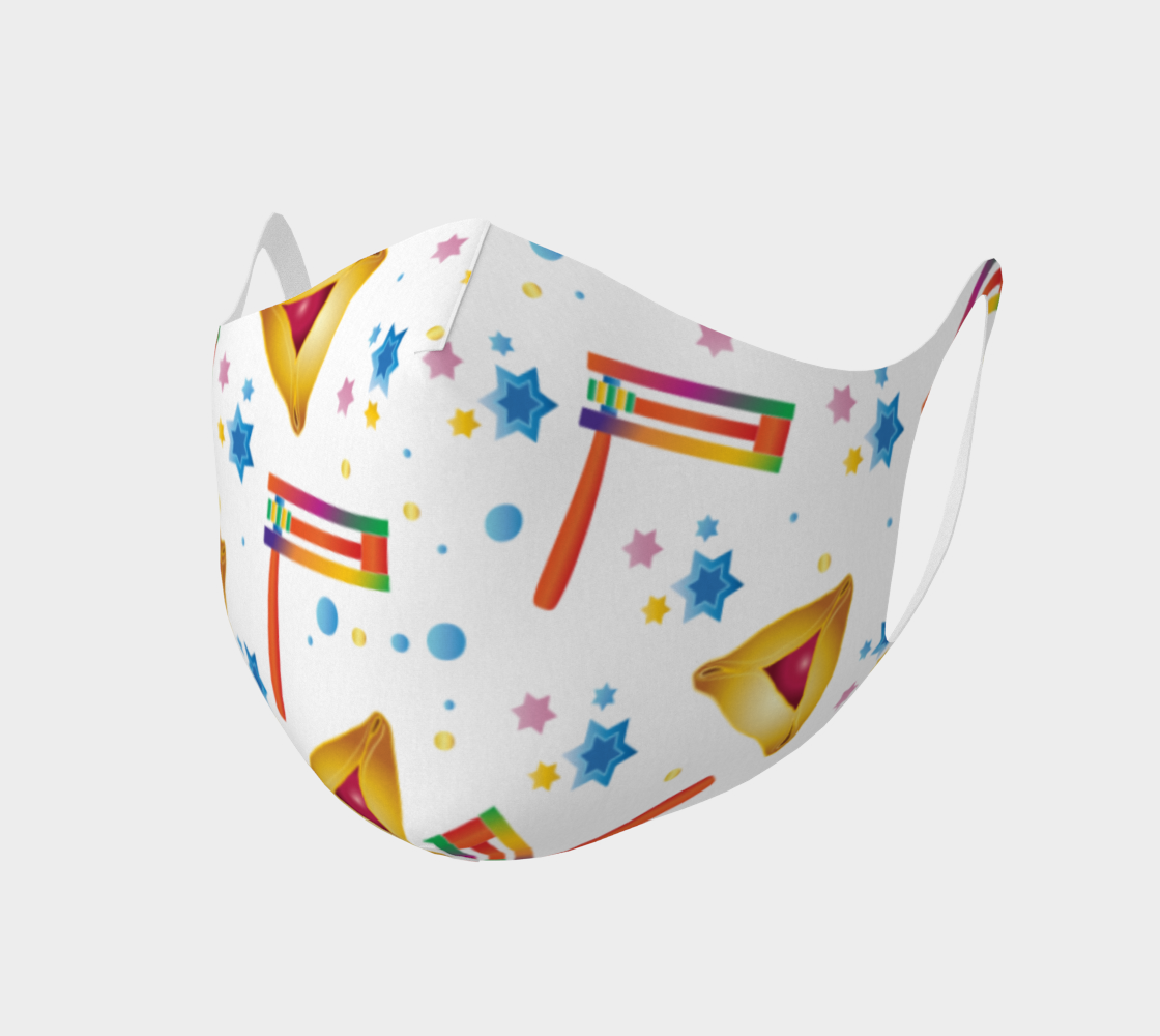 Happy Purim Festival Jewish Holiday Pattern preview