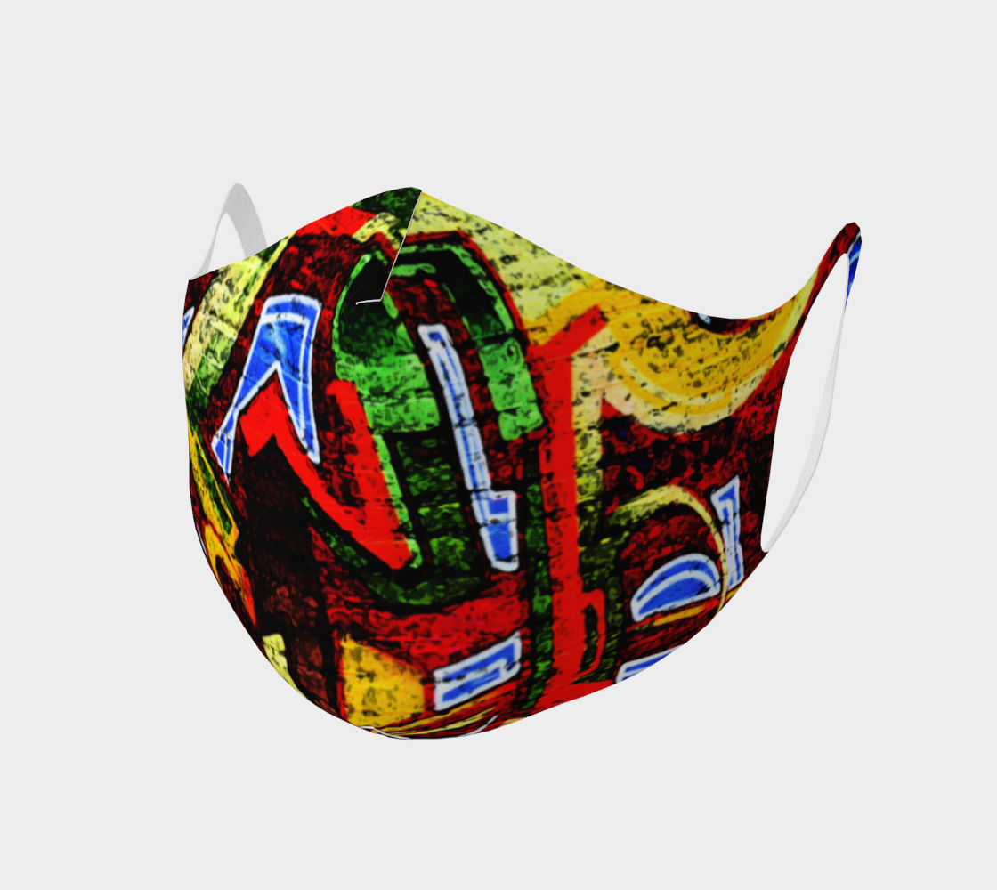 Graffiti 17 Double Knit Face Covering preview