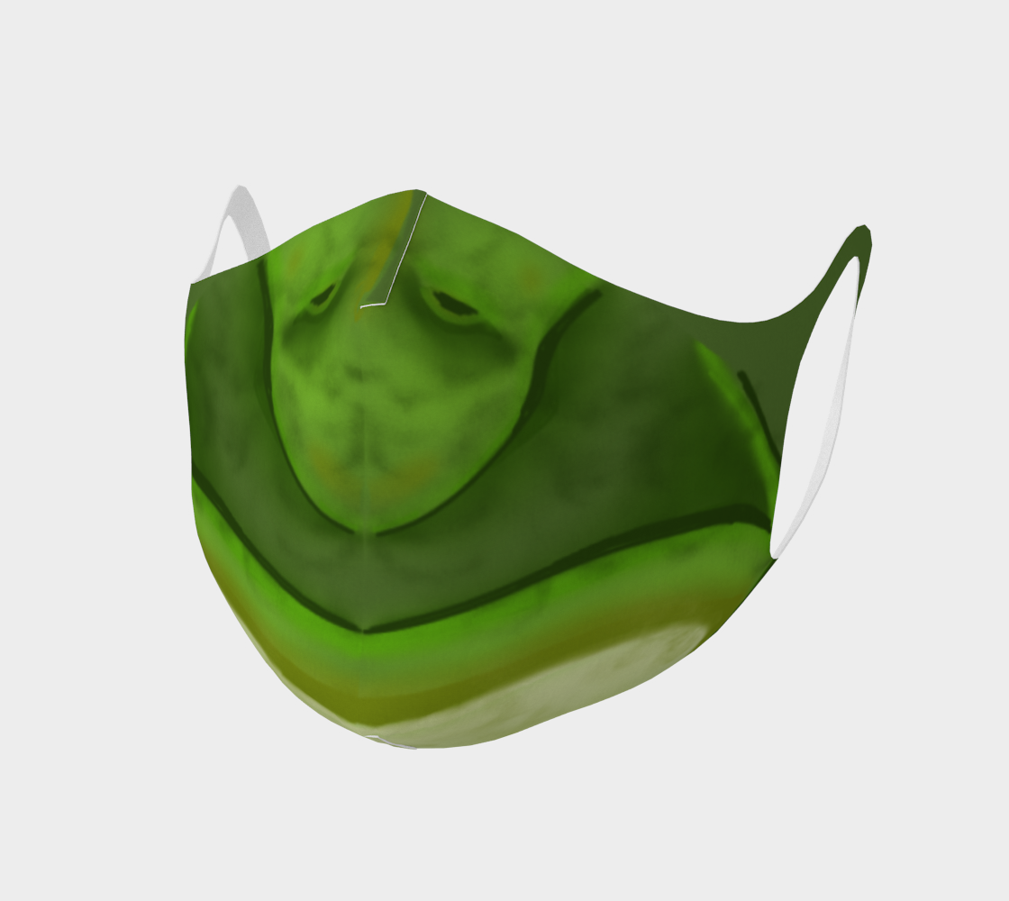 Frog Face Mask in Green preview