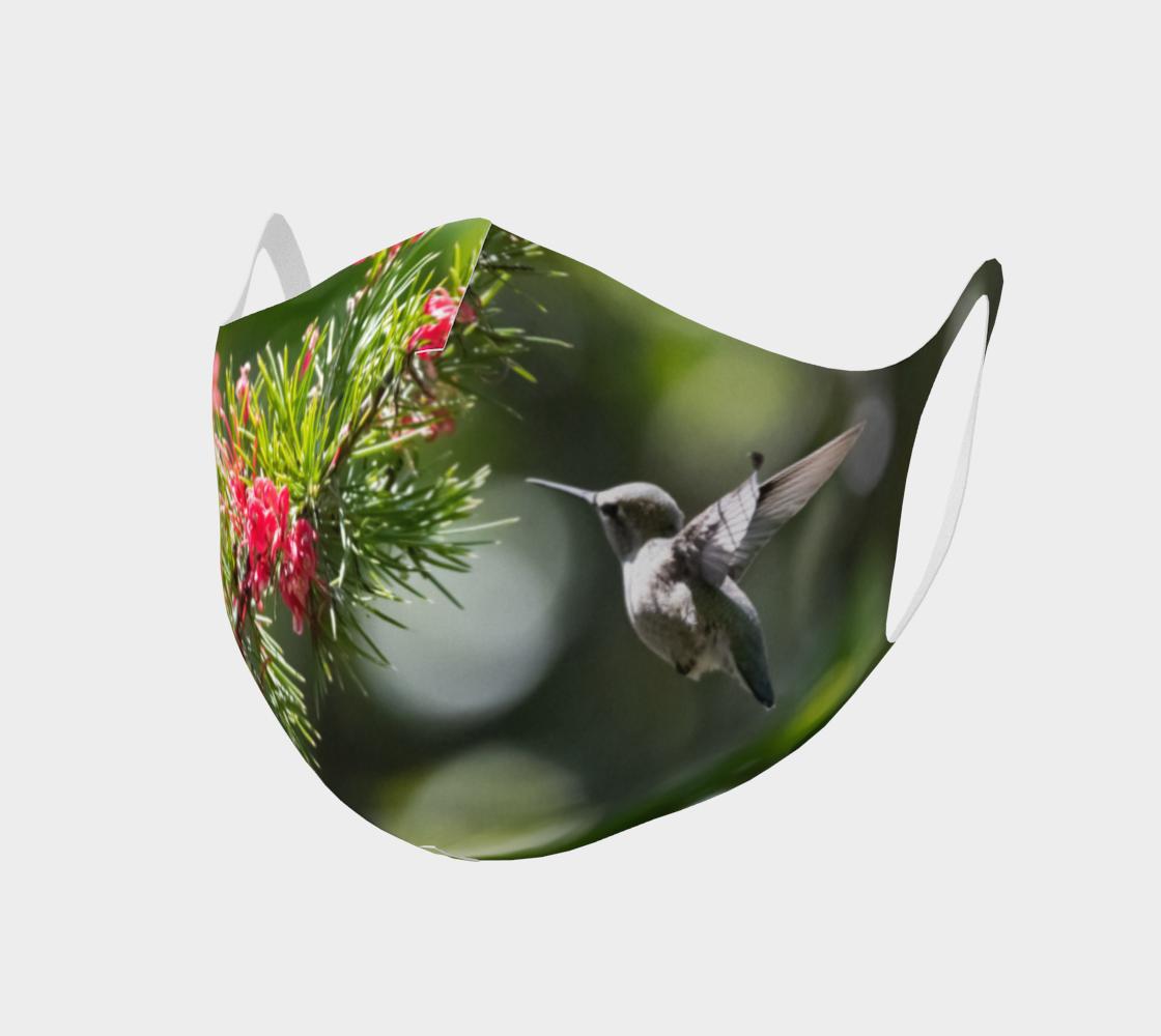 Aperçu de Double Knit Hummingbird Face Covering