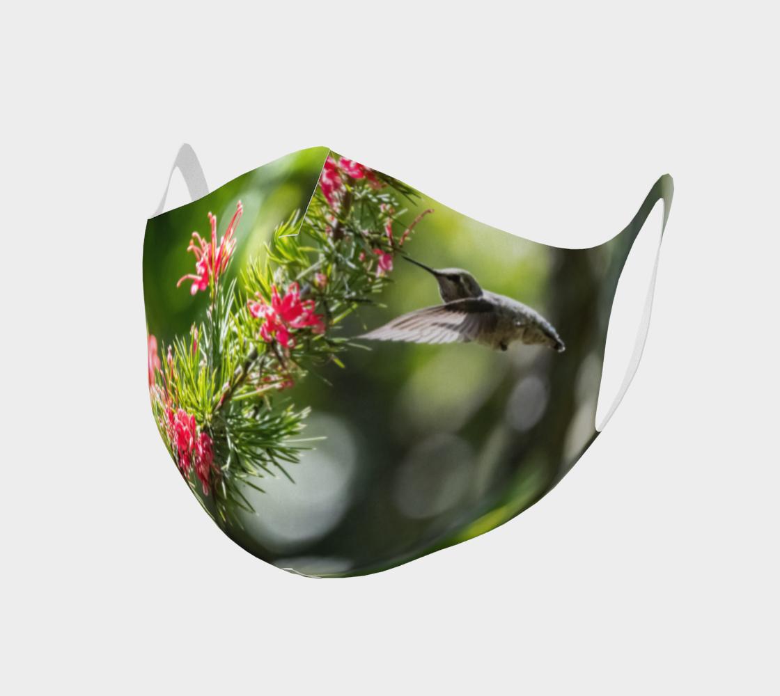 Aperçu de Double Knit Hummingbird Face Covering II