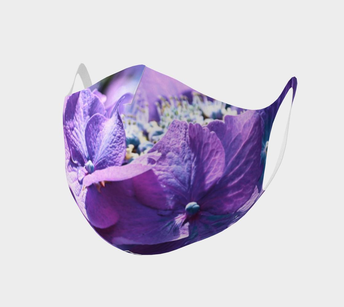 Aperçu de Double Knit Flower Face Covering