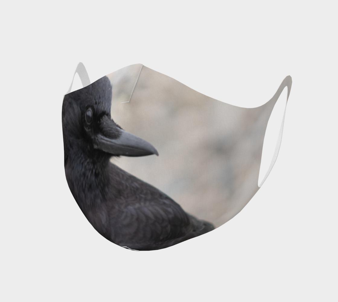 Aperçu de Double Knit Crow Face Covering