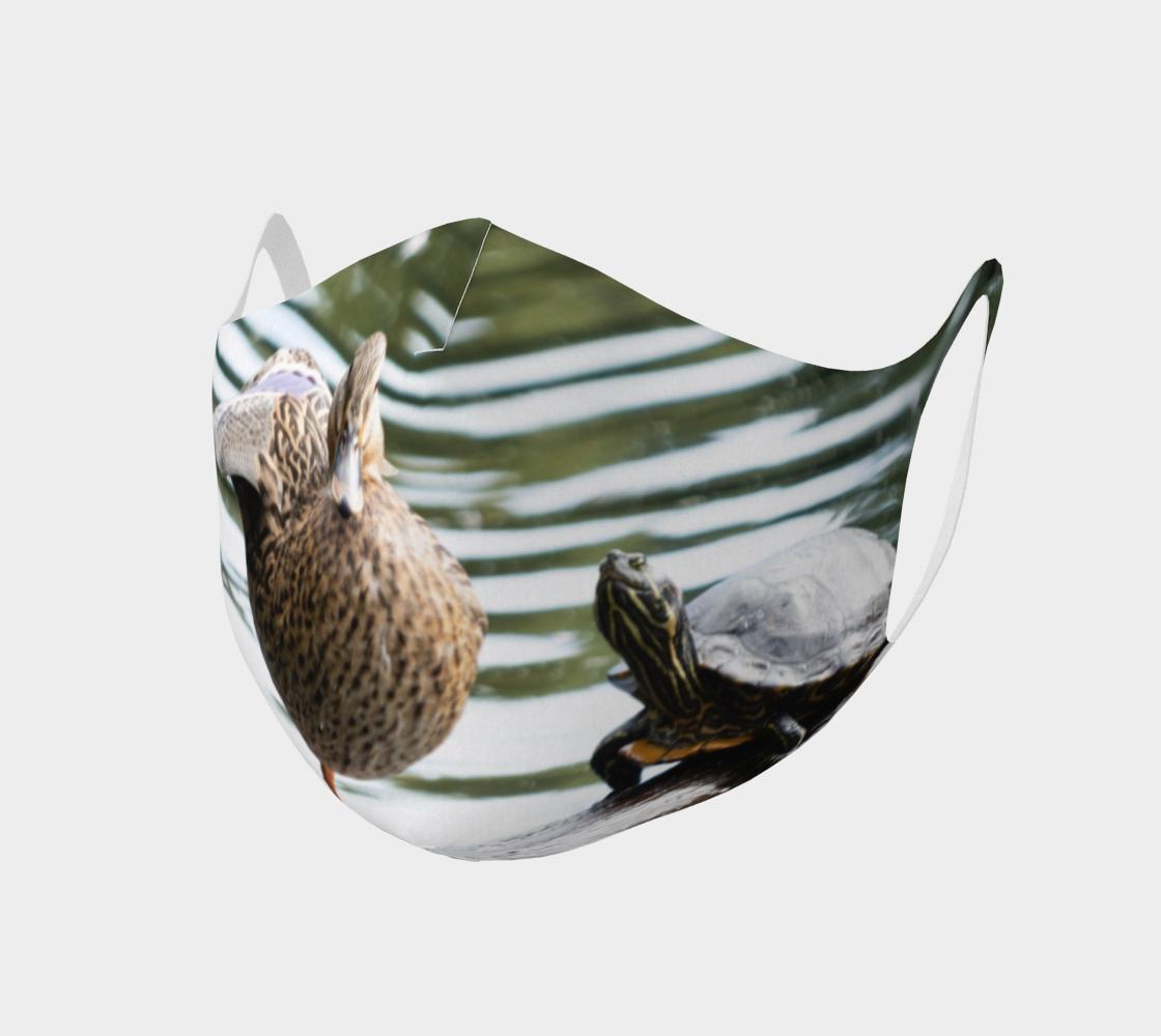Aperçu de Double Knit Dancing Duck Face Covering