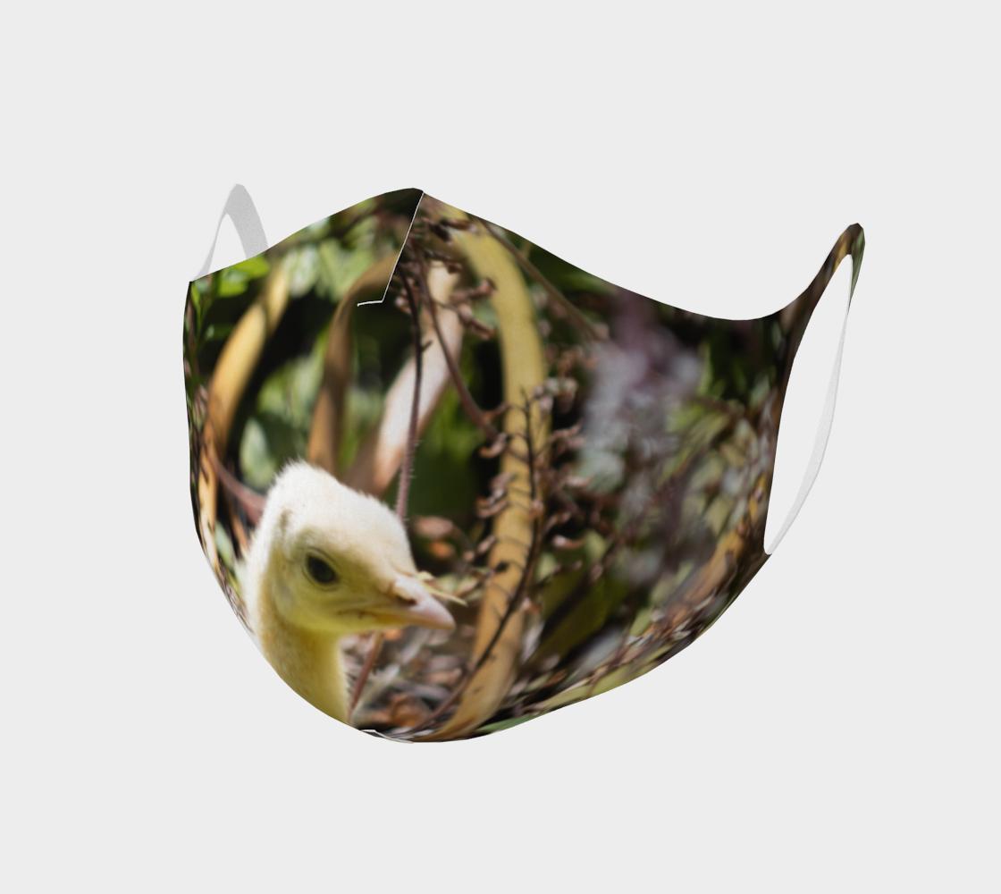 Aperçu de Double Knit Peachick Face Covering