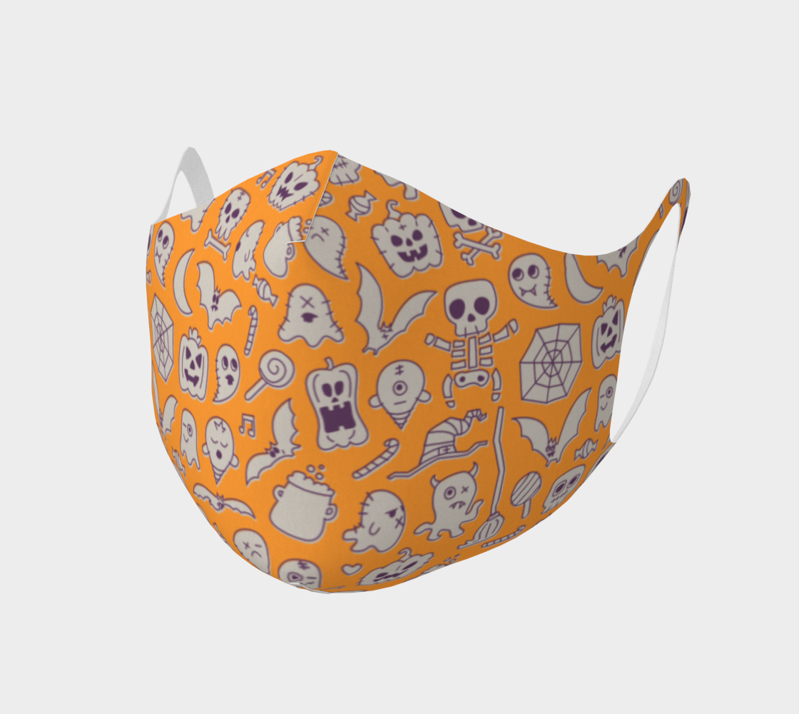 Orange Halloween Mask preview