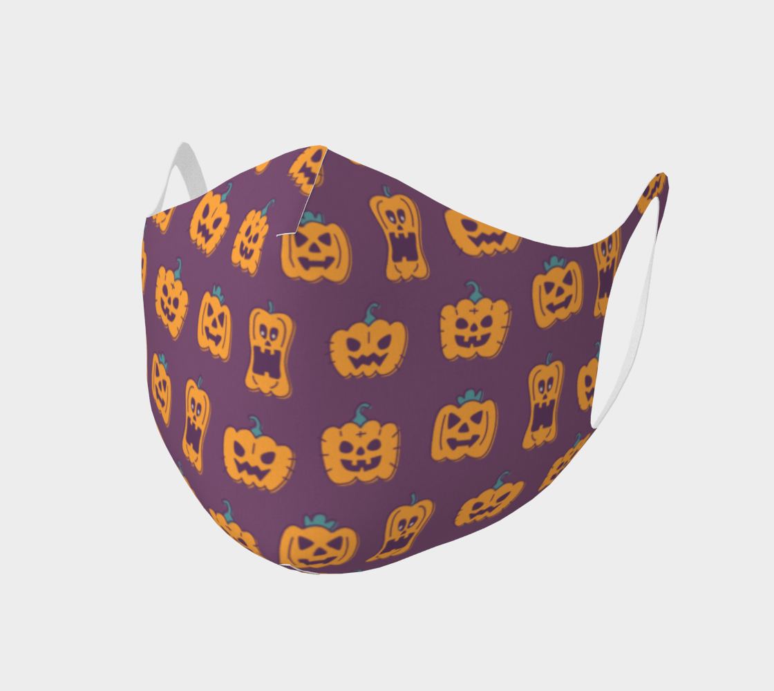 Purple Pumpkin Mask preview