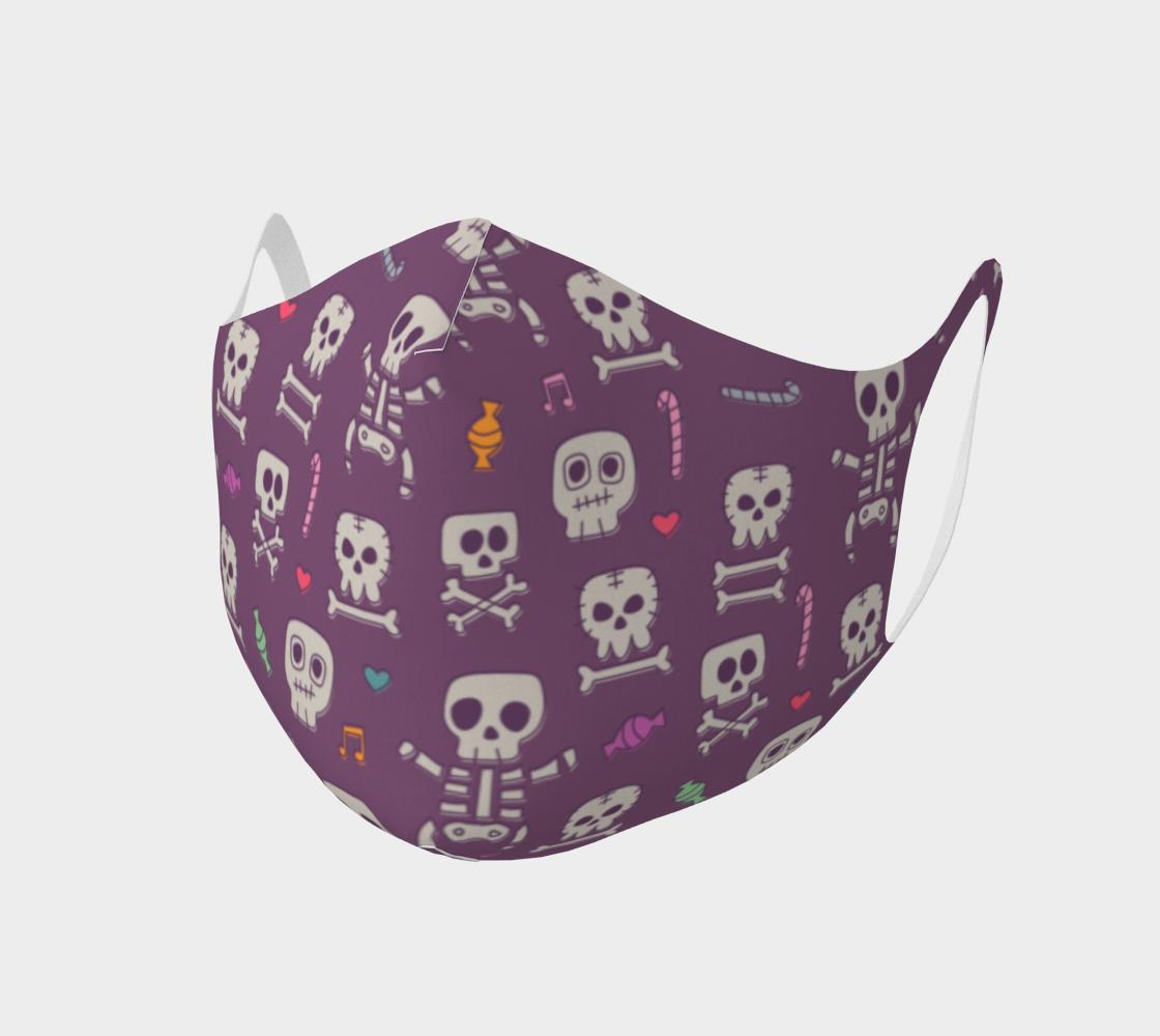 Purple Skeleton Mask preview