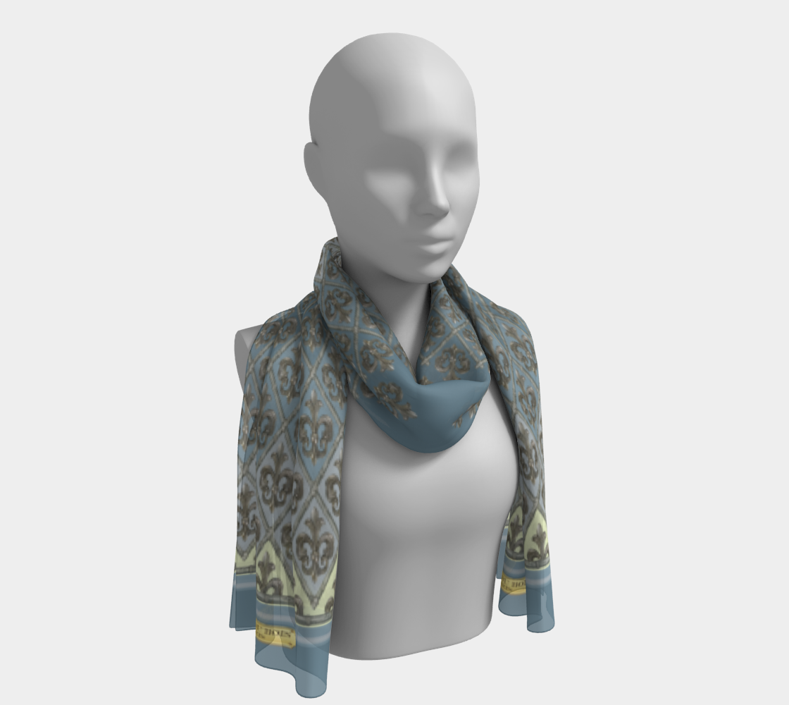 Creole New Orleans Scarf Long preview