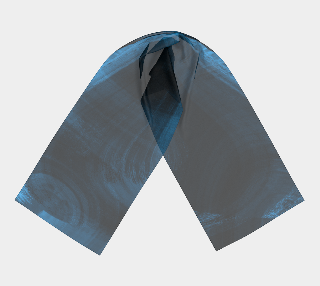 Bluish Black Hole Long Scarf preview #3
