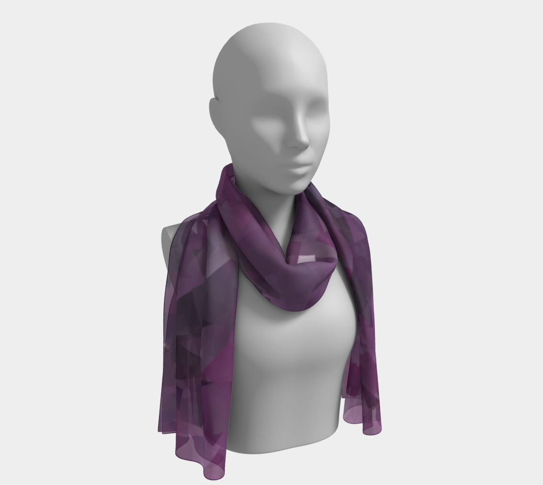 Muted Mauve In Cubes preview #1