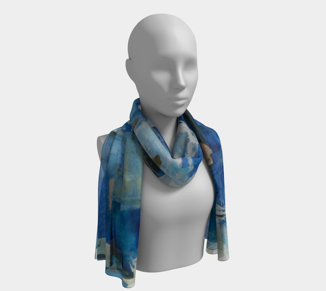 Ocean Checker Scarf preview