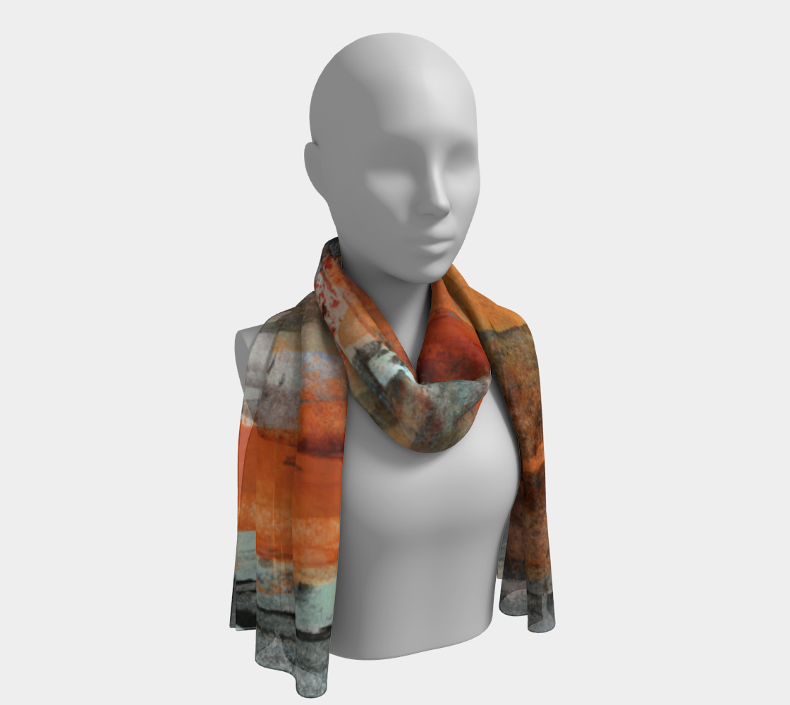 October Scarf preview