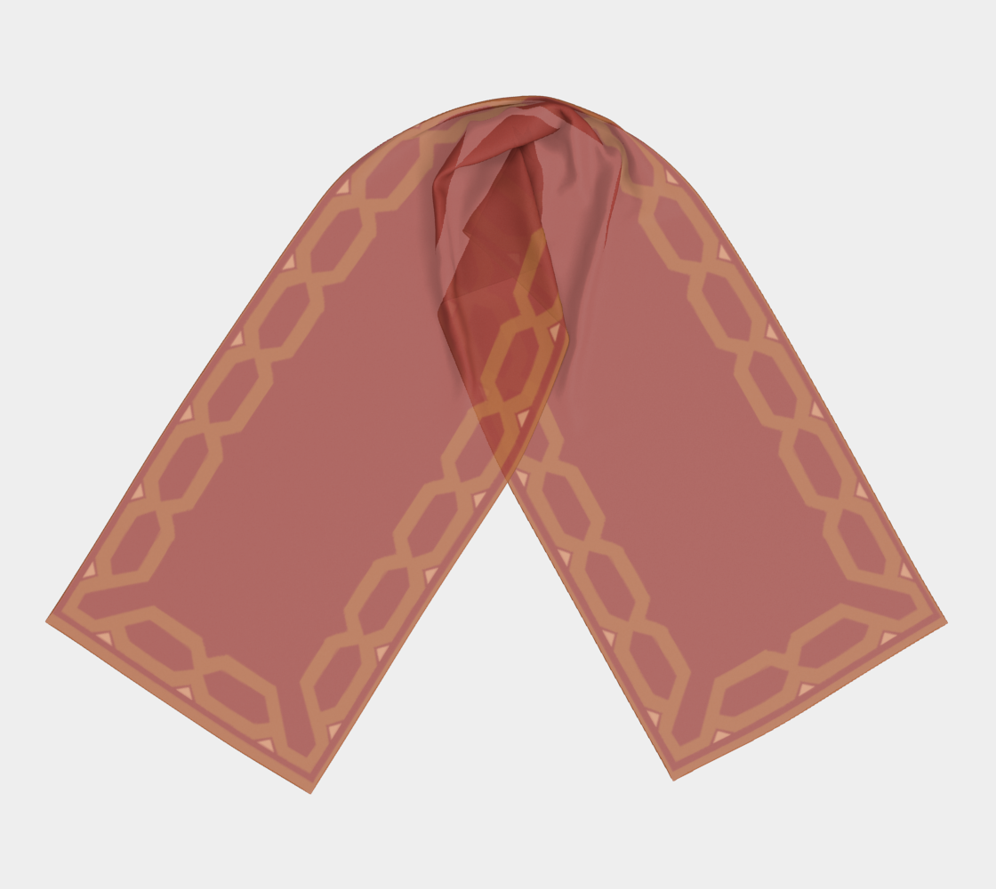 Scarf inspired in McCree's Serape  preview #3