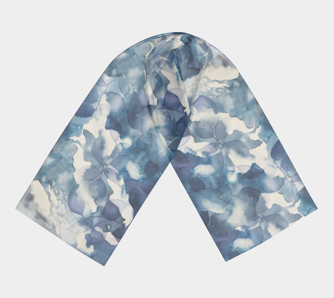 Aperçu de Blue Leaves w Signature #3