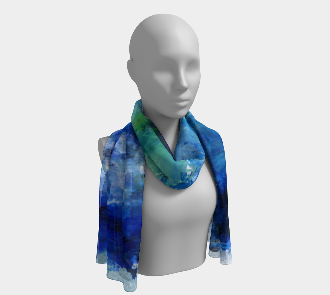 Blue Lagoon Scarf preview