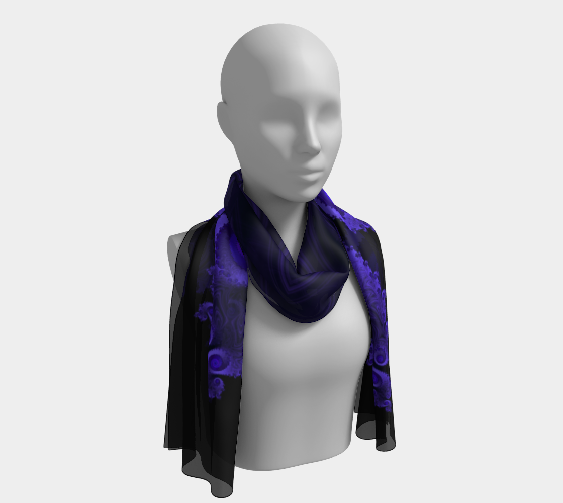 Black Light Long Scarf preview