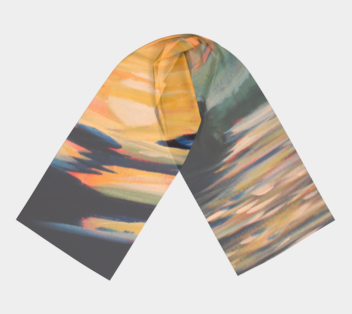 Moon Swept Clouds Scarf preview #3