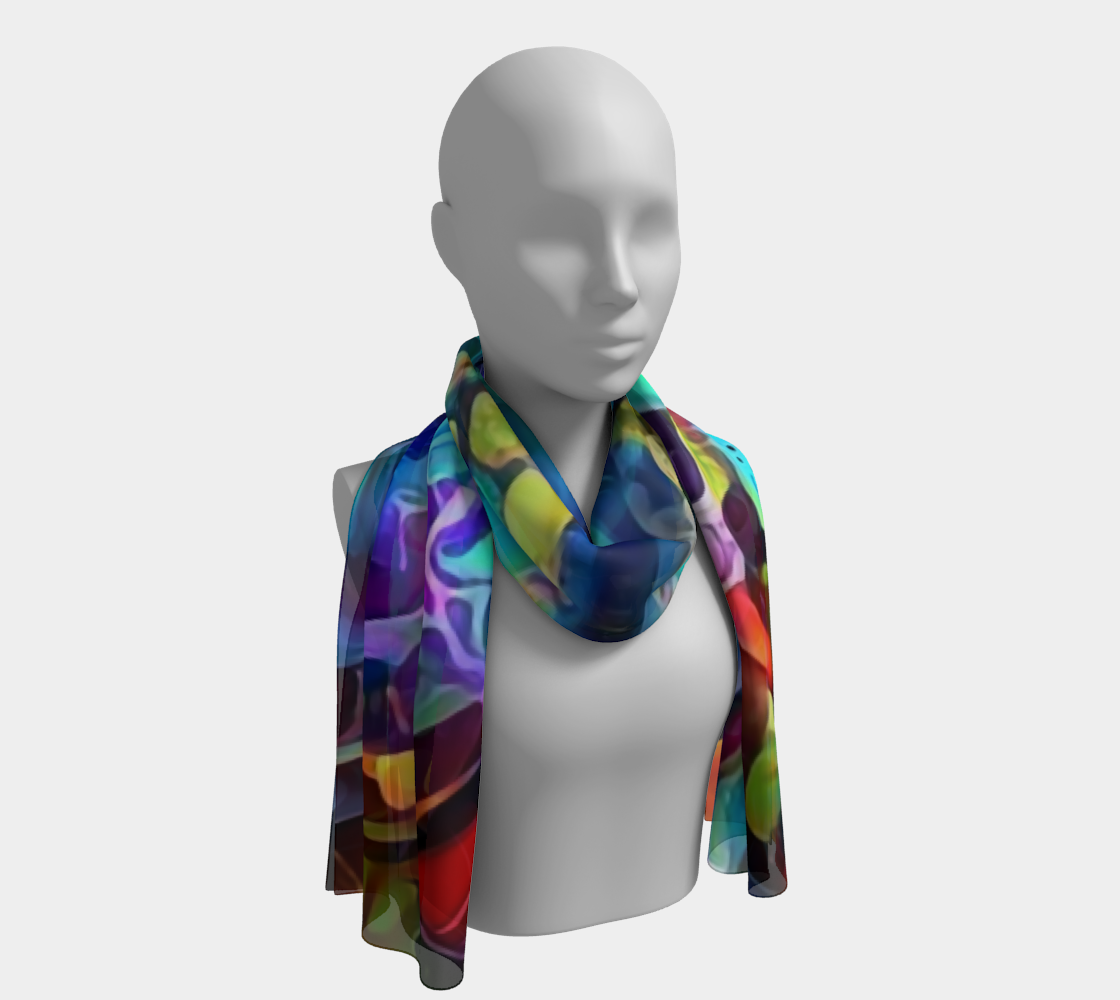 Rain Flower Long Scarf preview