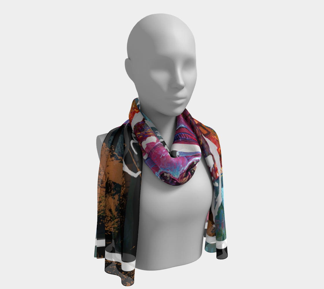 Devin Avatar Big-Sig Long Scarf preview