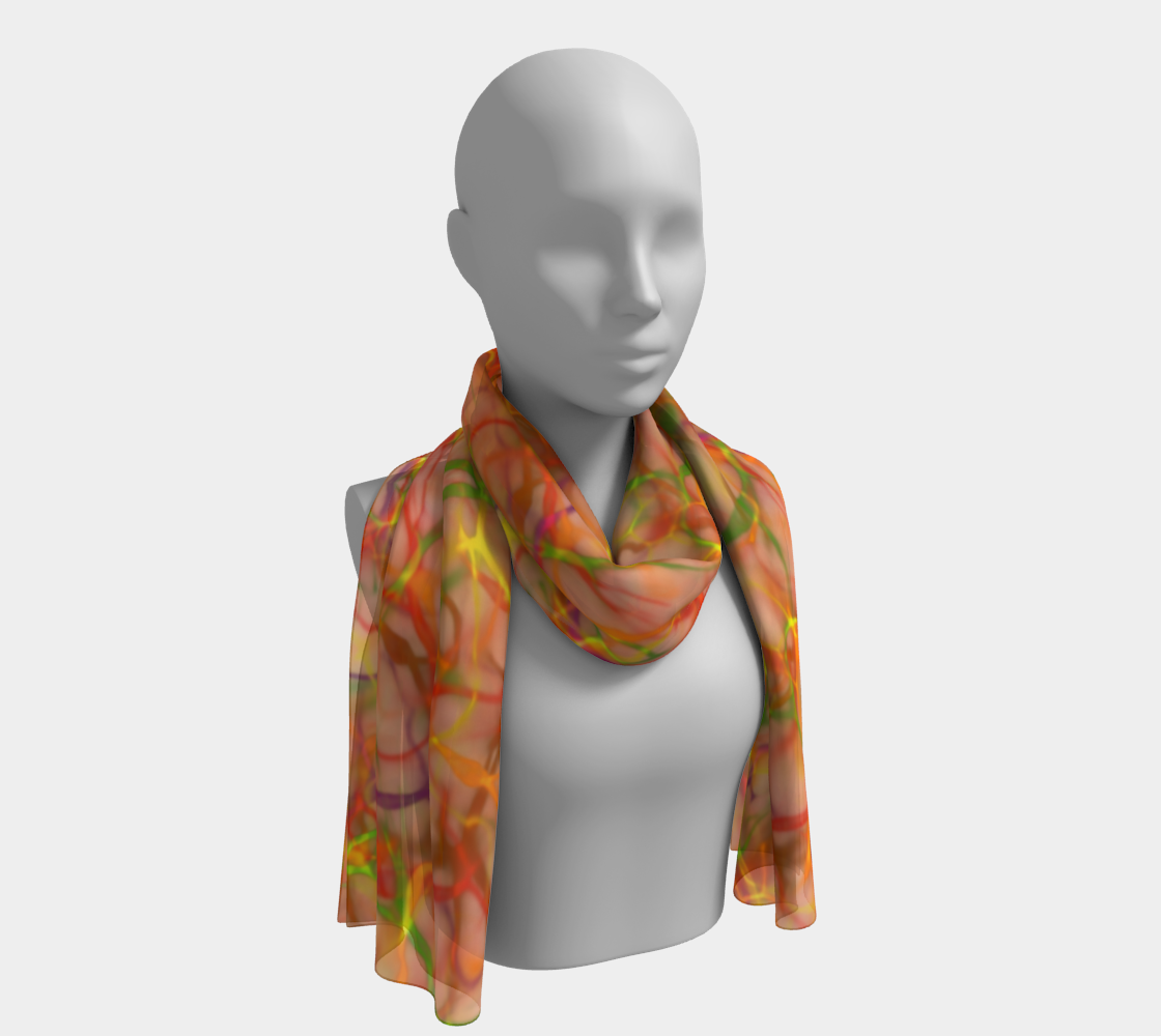 Autumn Fire - Scarf preview