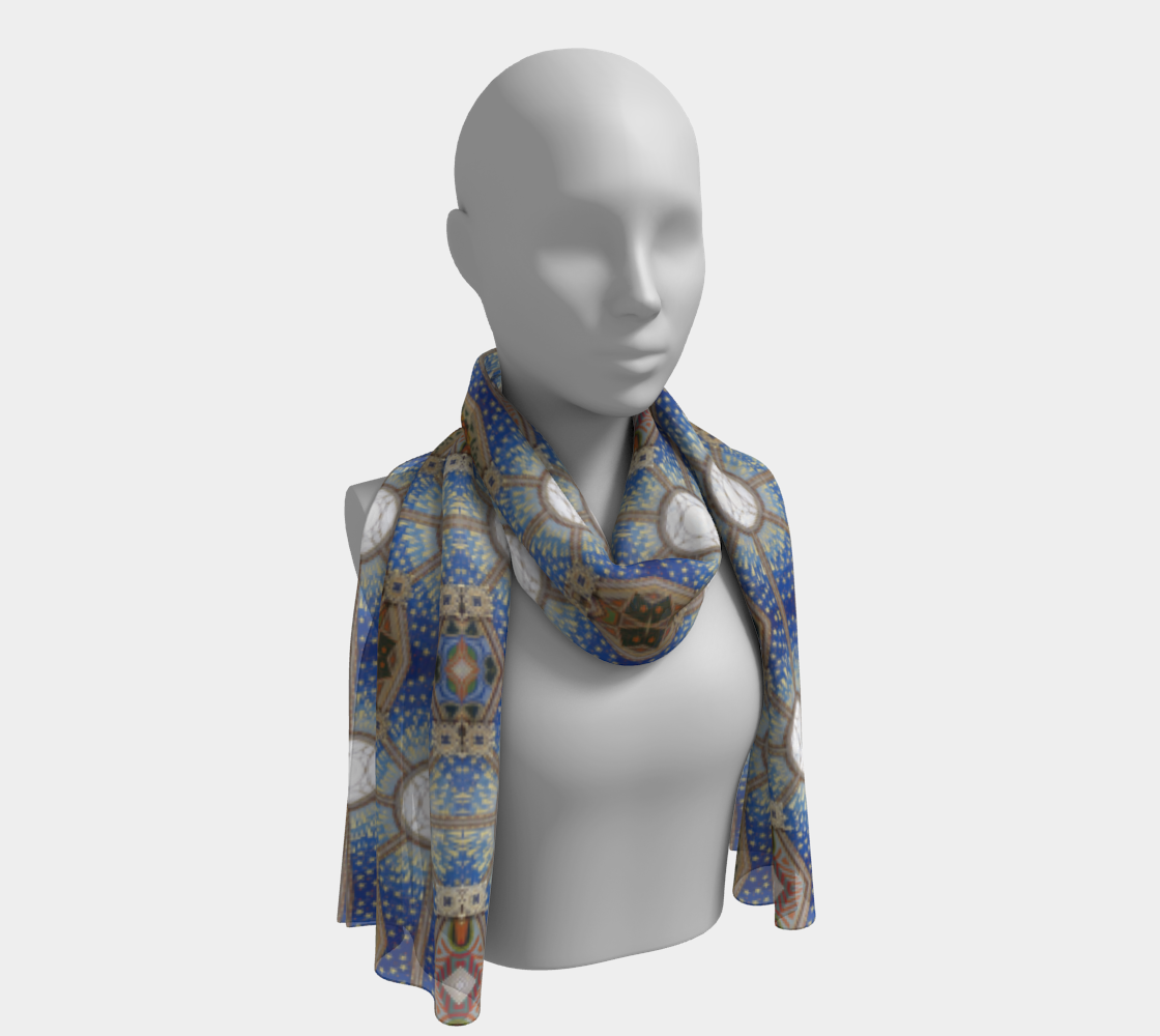 Celestial Ceiling #9 Long Scarf preview