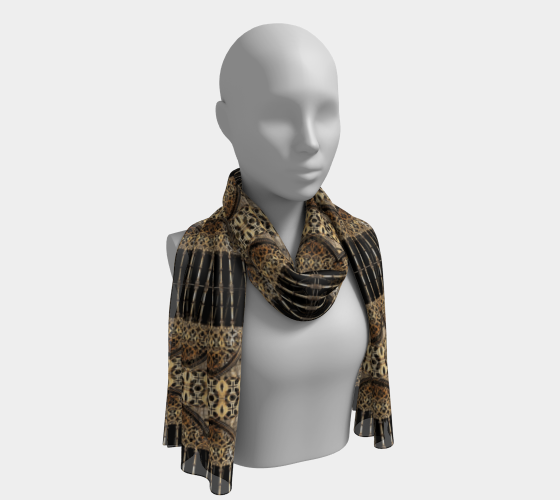 Gothic Arch Long Scarf preview