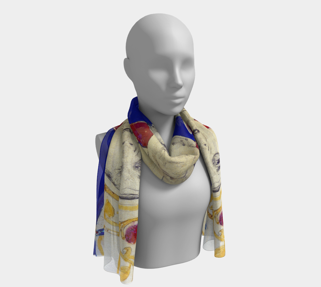 Aperçu de Pope John Paul II Commemorative Scarf