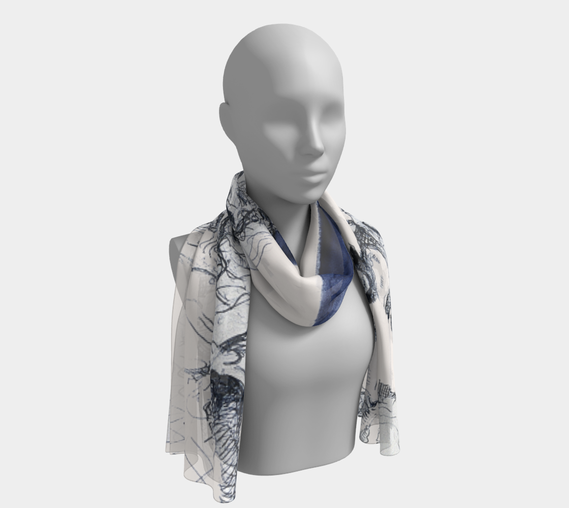 Place Blanche Showgirl Long Scarf preview
