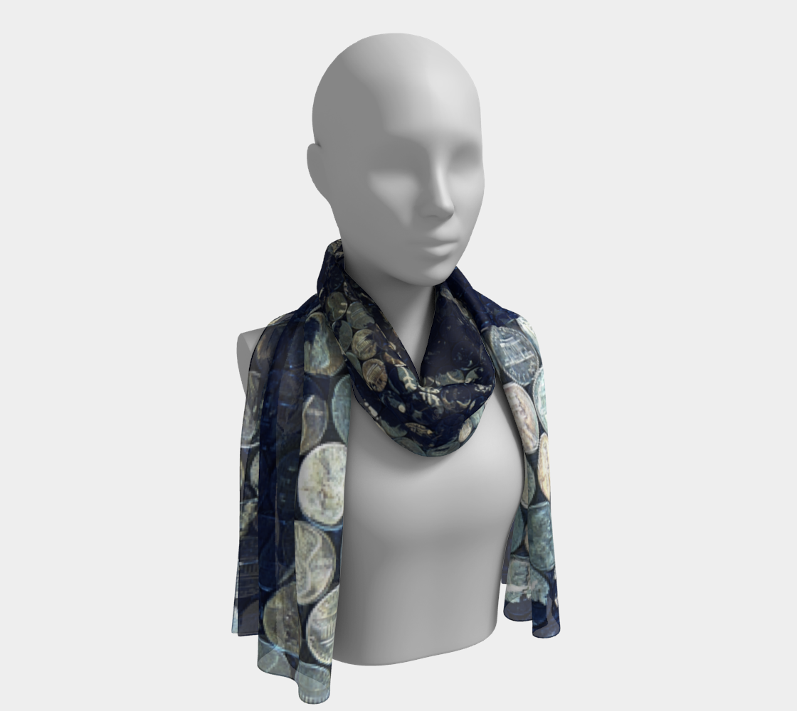 Lincoln-on-Lincoln Pennies From Heaven Long Scarf preview