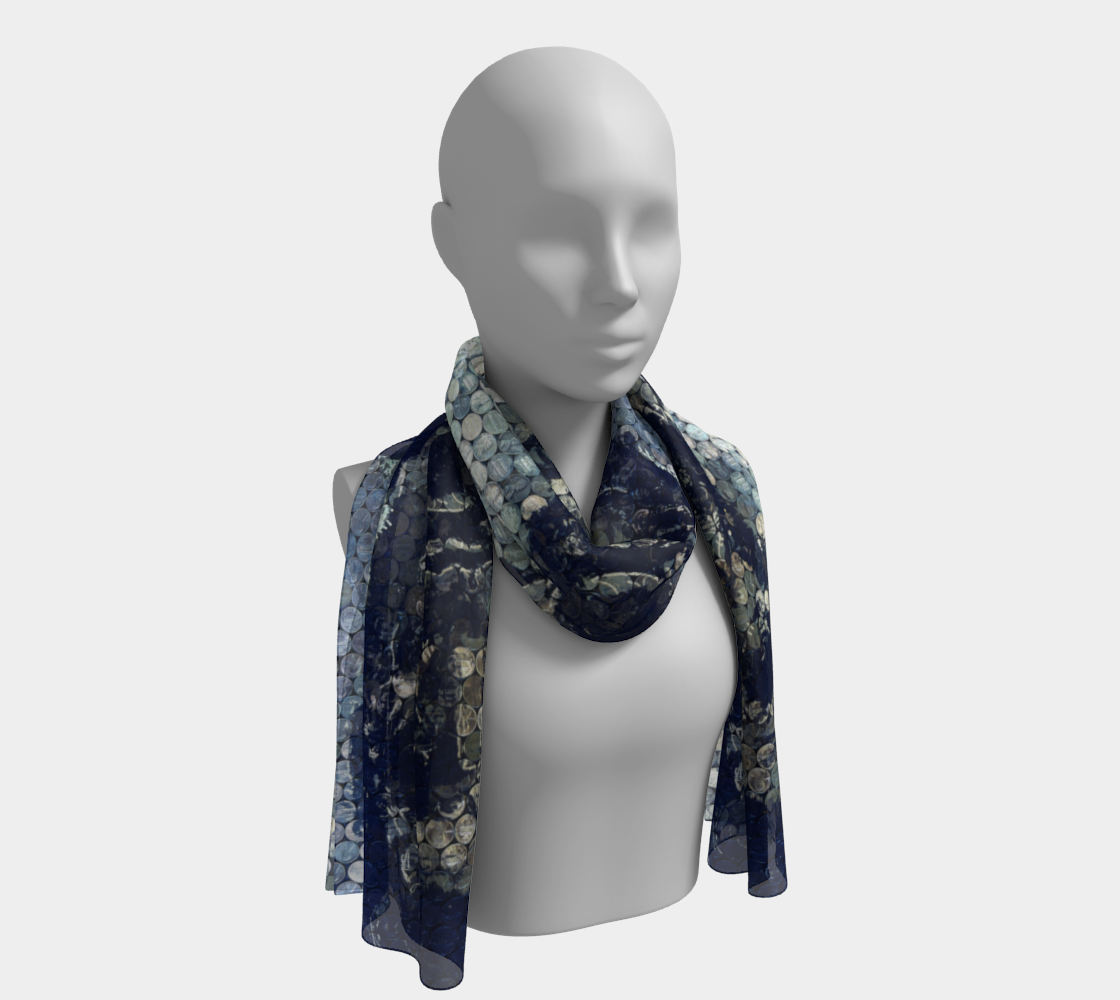 Lincoln-on-Lincoln Triple Print Long Scarf preview