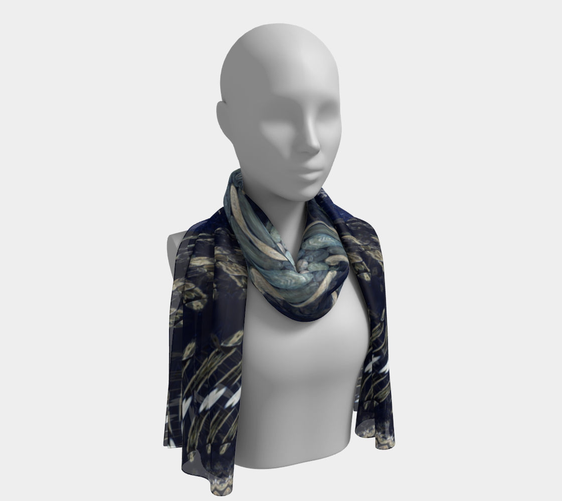 Lincoln Coin-Nebula Long Scarf preview