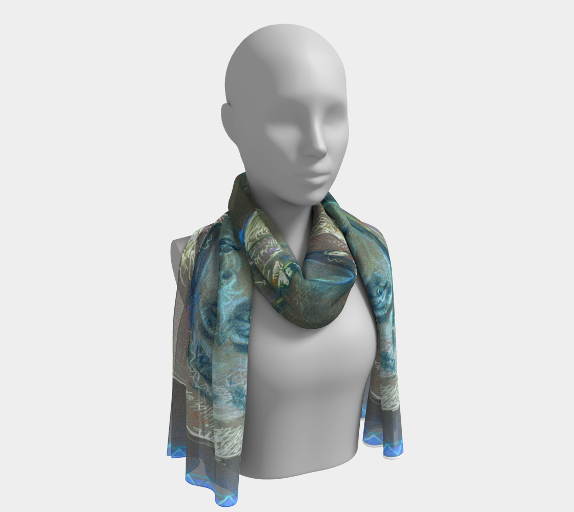 The One Eternal Gift / Devin Fine Art Scarf preview