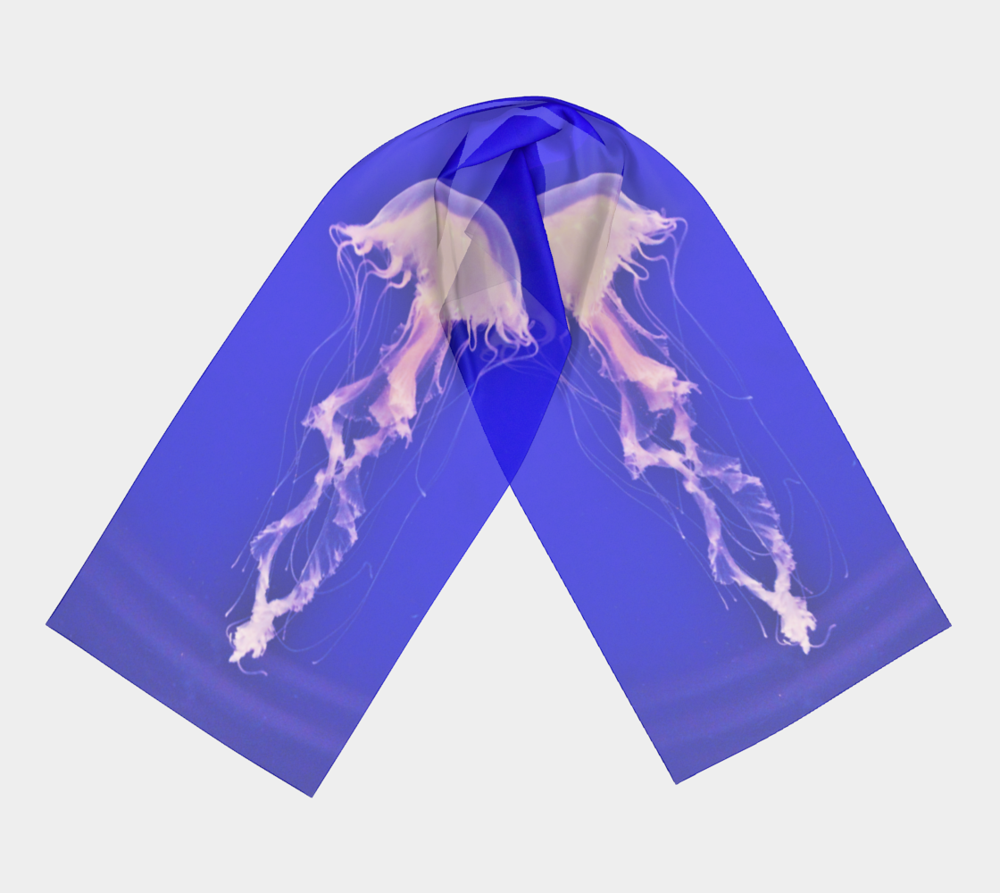 Jellyfish Scarf preview #3