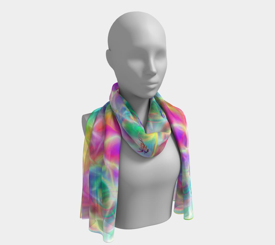 Fey Eyes silkscarf preview
