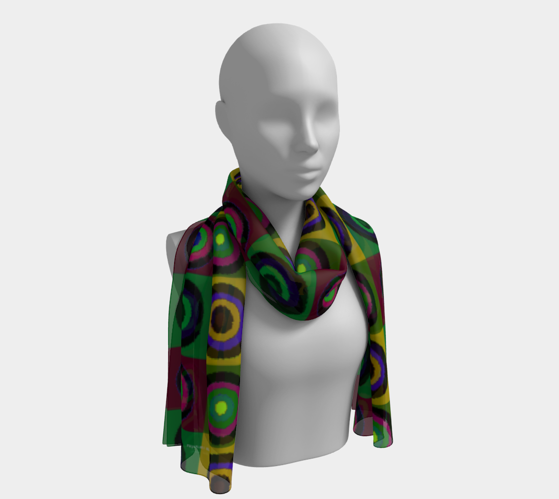 """Psych My Mind Muted"" Scarf preview"