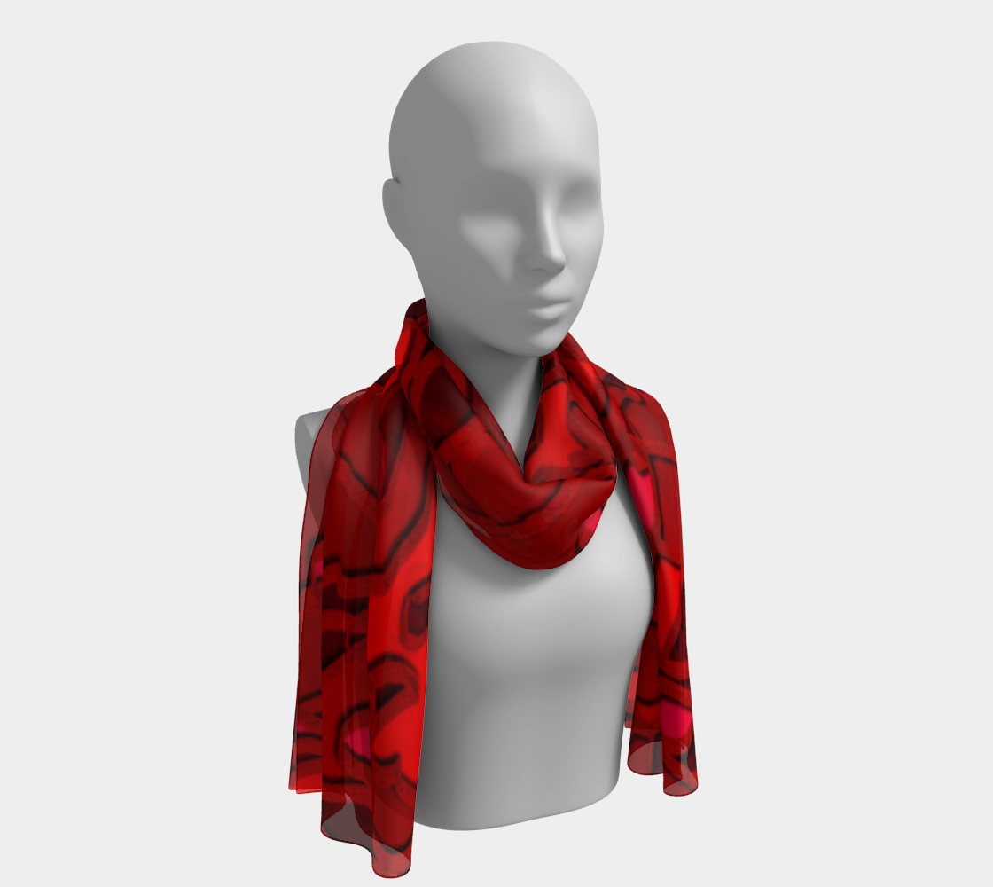 """Redness"" Scarf preview"
